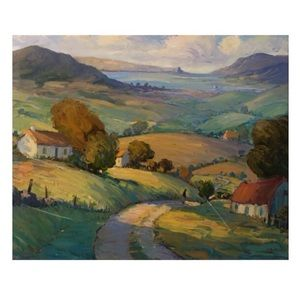 Other - Canvas Country Side Oil Painting